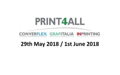 TCM Solutions @ Print4all / Converflex MILANO 2018