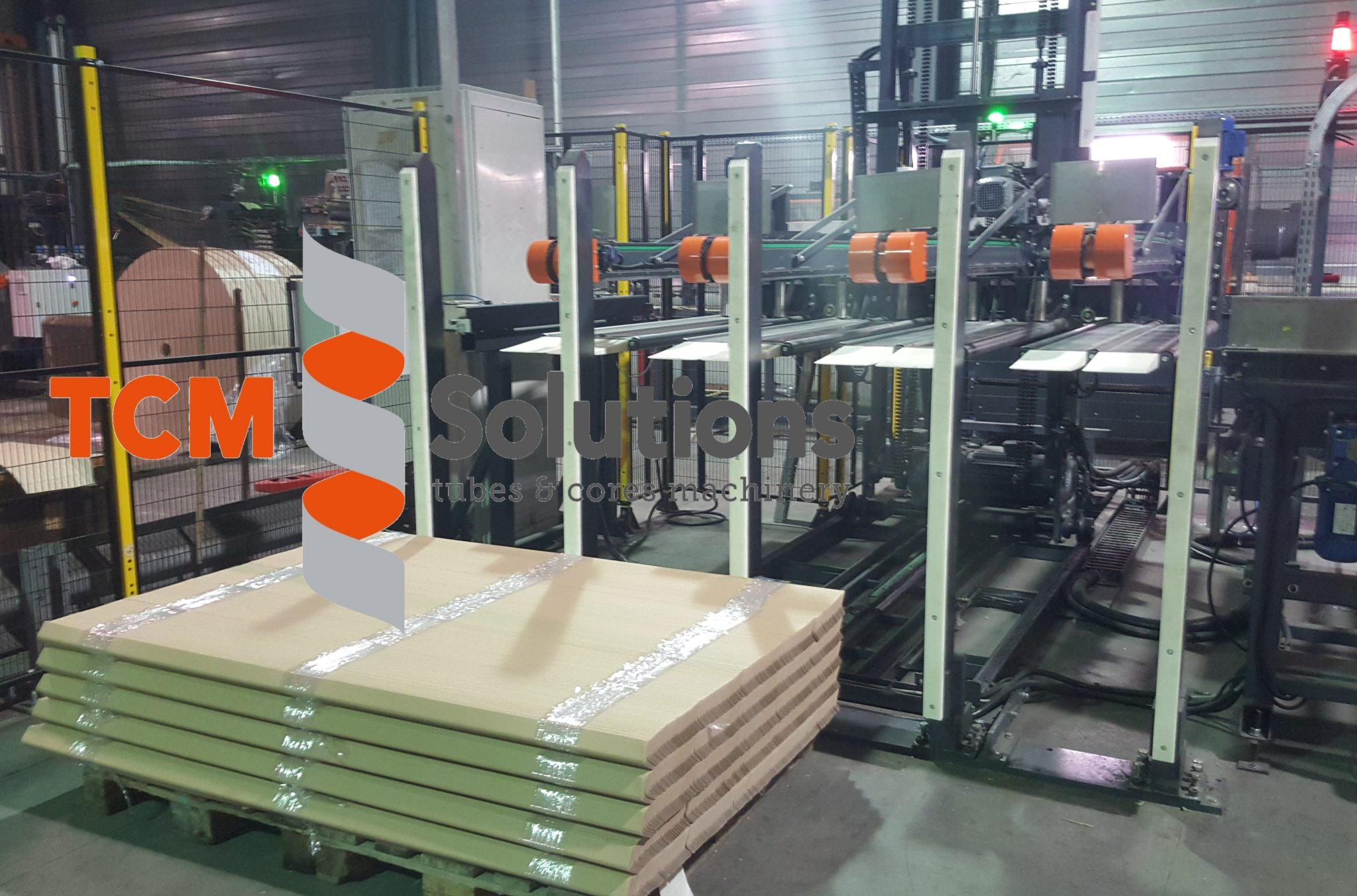 TCM Pofiles Palletizer