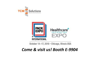 TCM Solutions @ Pack Expo Chicago 2018