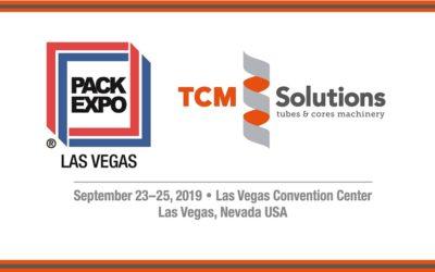 TCM SOLUTIONS @ Pack Expo Las Vegas 2019